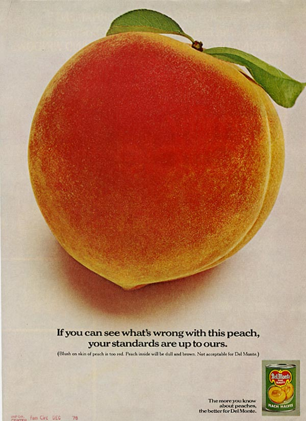 Del Monte Peaches advertisement