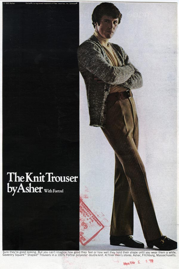 Asher Knit Trousers advertisement