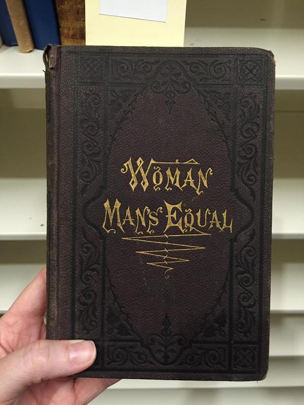 woman man's equal - tracy