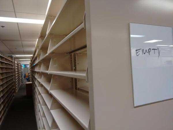 Empty stacks YAY!