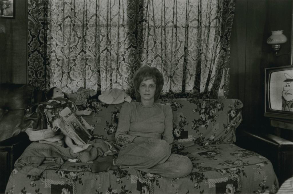 Joyce Chandler, Joe Ross Chandler's wife, 1976.* Copyright, Rob Amberg