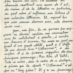 Frankétienne's letter to Jean Dominique page 2