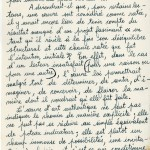 Frankétienne's letter to Jean Dominique page 5