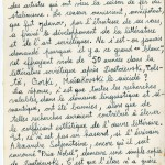 Frankétienne's letter to Jean Dominique page 6