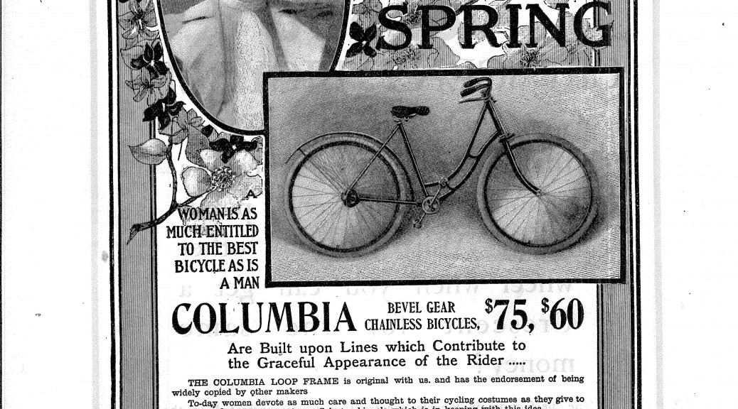 1900 Columbia bicycle from Baden