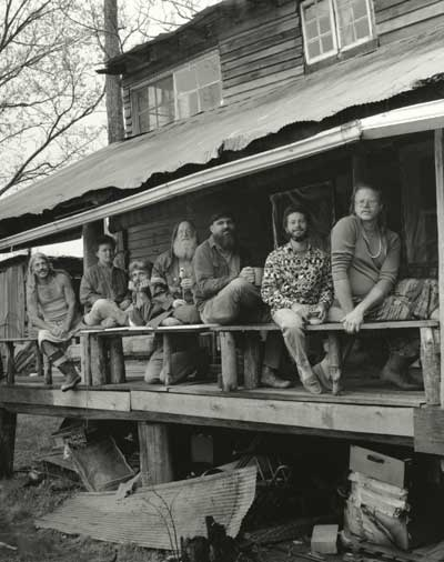 The Managing Editors of RFD at Short Mountain Sanctuary. From the James T. Sears Papers.