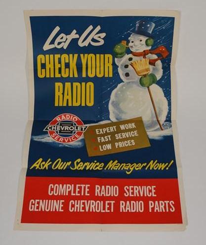 Chevrolet radio service