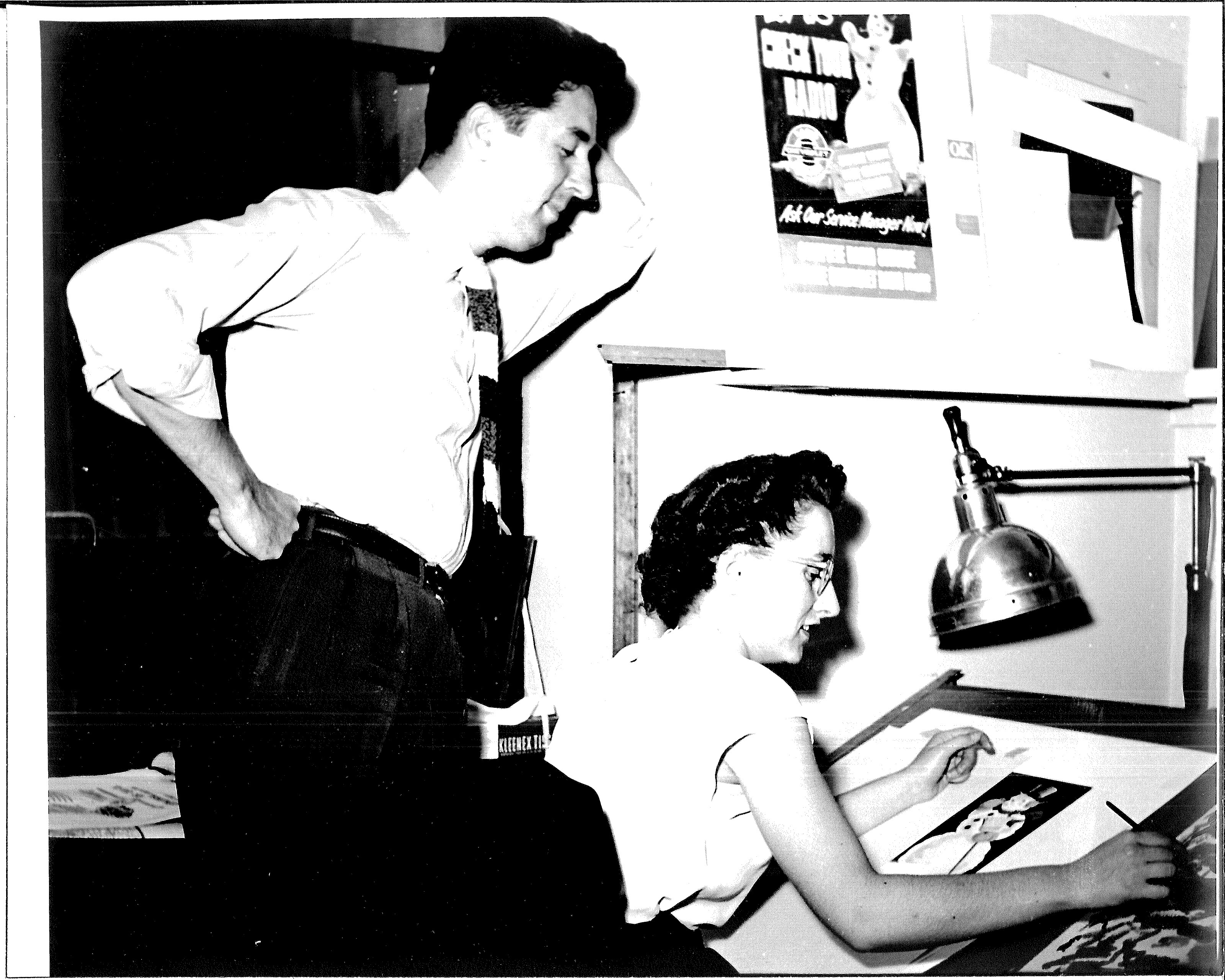 Mystery photo circa 19492
