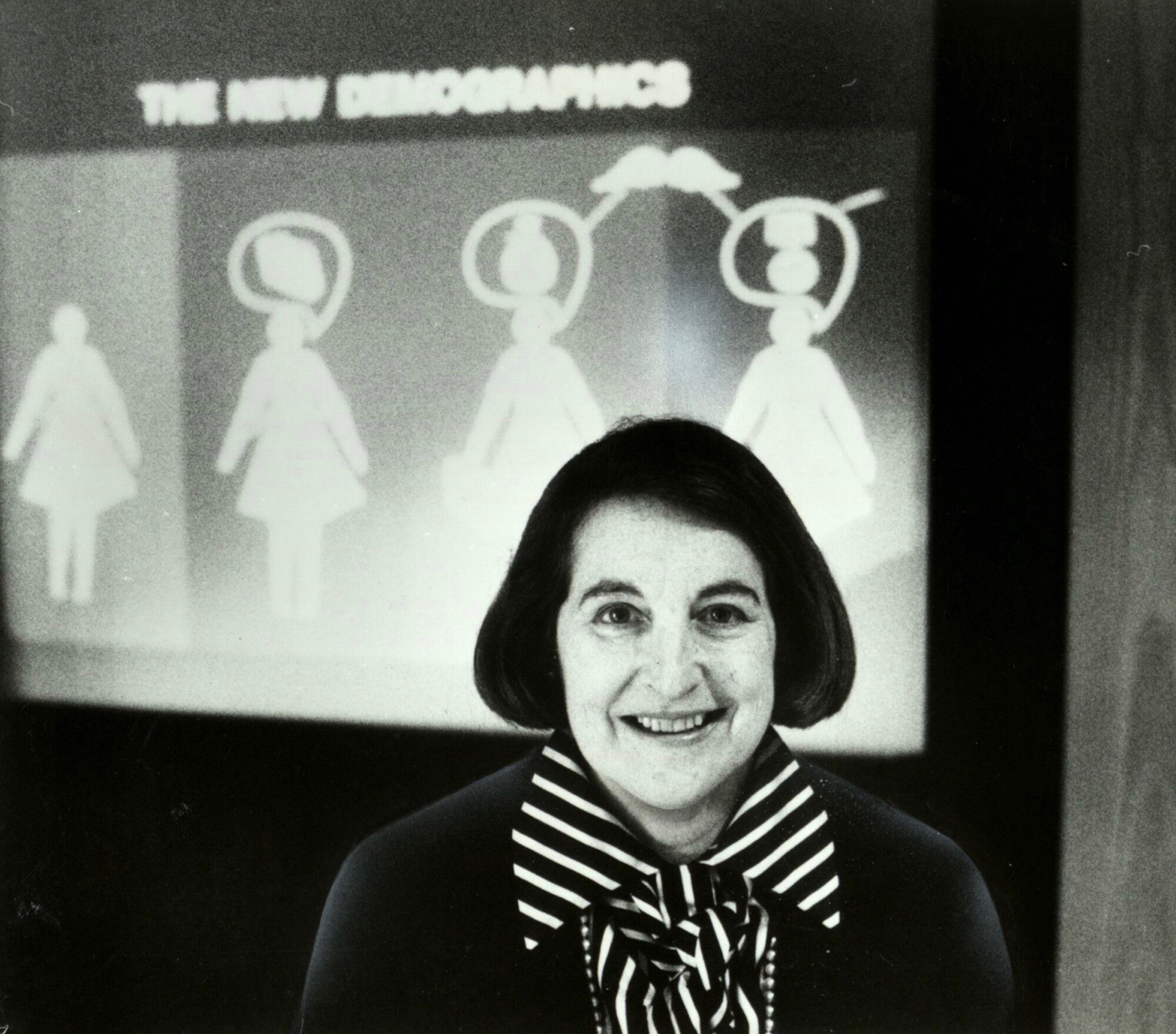 Photograph of Rena Bartos c. 1970