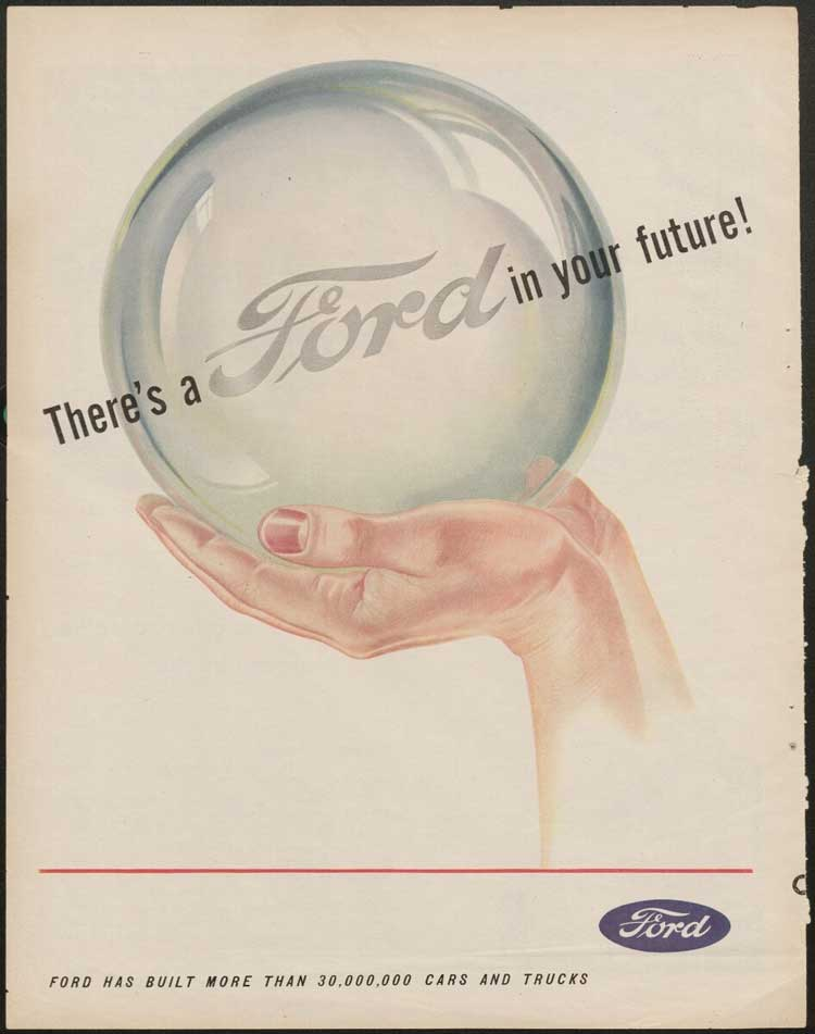 """There's a Ford in Your Future"" ad"