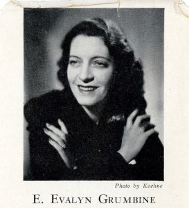 Author photo in Patsy Breaks into Advertising (New York: Dodd, Mead & Company, 1946). Hartman Center Archives.