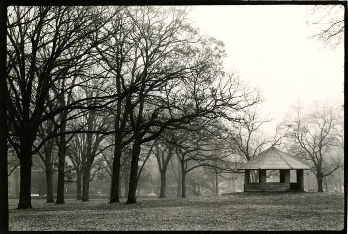 East Campus pavilion, circa 1980