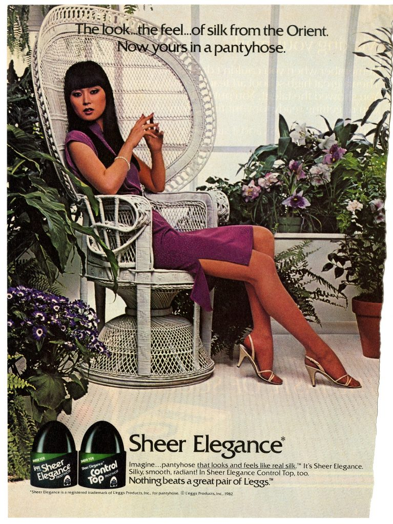 Sheer Elegance pantyhose advertisement