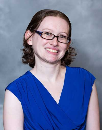 Photo of Hillary Gatlin, Duke's new Records Manager.