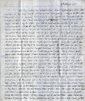 Manuscript with hand-writing