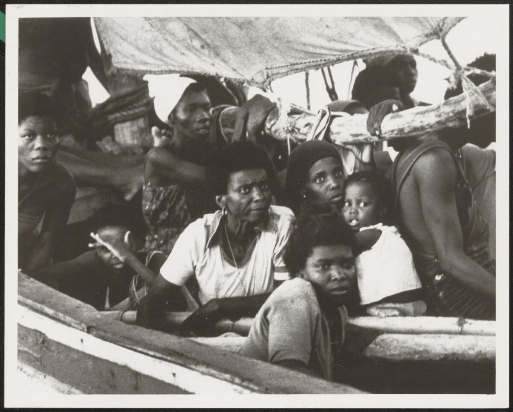 Photo of Haitian migrants from Caribbean Sea Migration