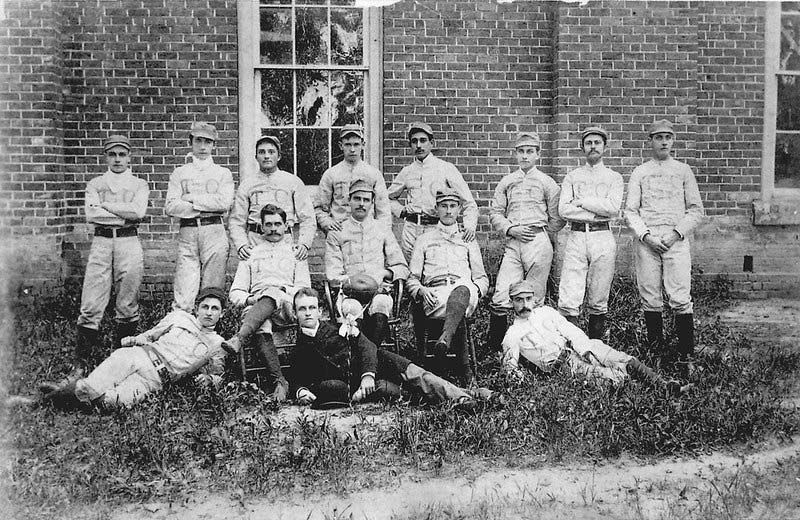 Trinity College Football Team, 1888