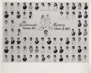 Scarborough class grads 1937