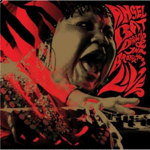 Album cover for LIVE by Angel Bat Dawid & Tha Brothahood