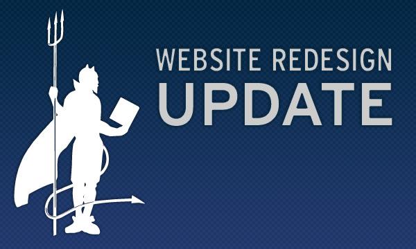 Website Redesign Update