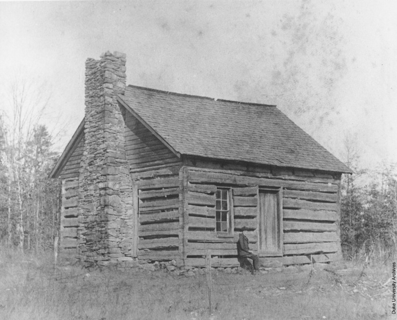 Brown's Schoolhouse, the humble predecessor of Duke University