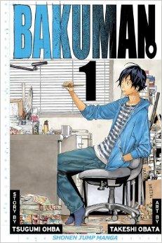 Bakuman book cover