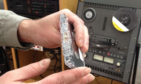 reformatting audio cassette