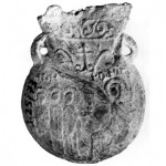The original medieval ampulla...