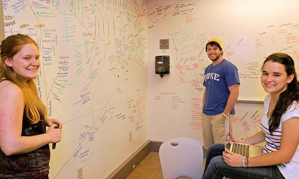 Help us improve the library experience at Duke and make your voice heard by joining one of our student advisory boards.