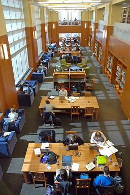 Perkins-reading room