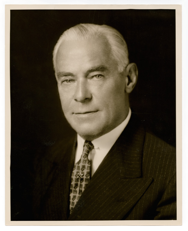 Undated photograph of Frank C. Brown from the Duke University Archives.