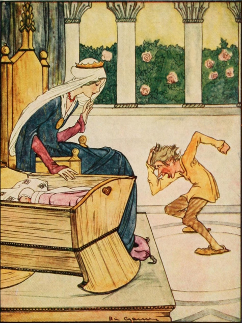 Rumpelstiltskin. All images and illustrations by Arthur Rackham from public domain sources.