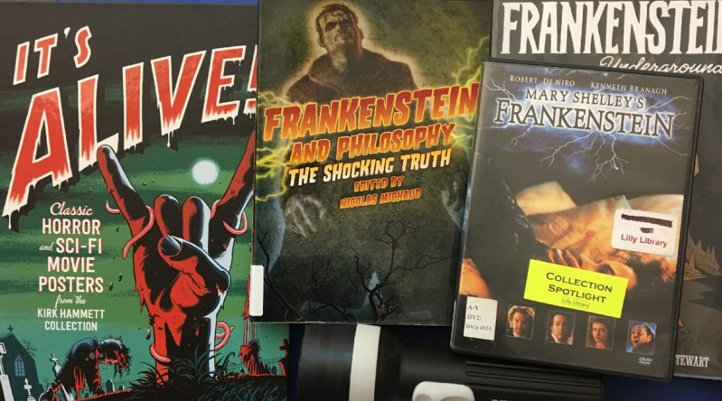 Lilly Collection Spotlight on Frankenstein image