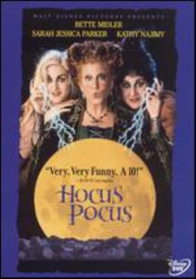DVD cover Hocus Pocus